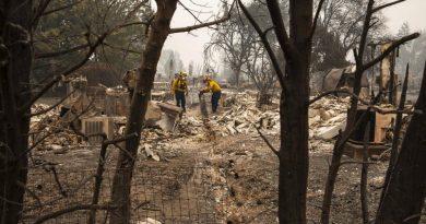 Oeste dos EUA devastado por incêndios