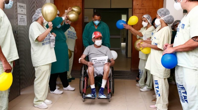Paciente de Covid 19 internado há 5 meses em estado grave recebe alta   ViDA & Ação