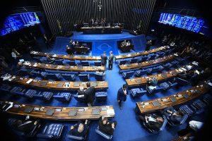 Plenário do Senado Federal em vista de cima