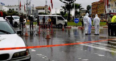 Policial e três supostos terroristas são mortos após ataque na Tunísia