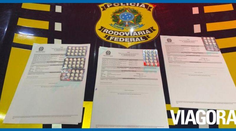 PRF autua 4 pessoas com comprimidos de rebite na BR 316 no Piauí