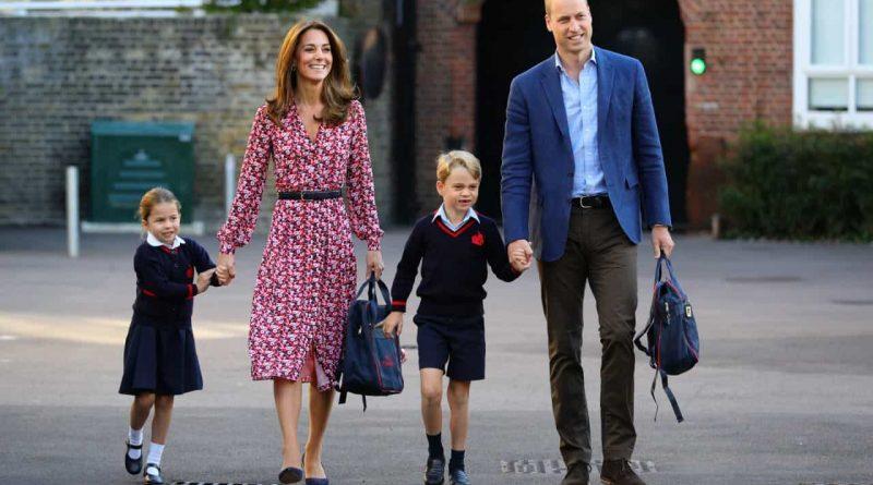 Príncipe William confessa alívio por filhos regressarem à escola