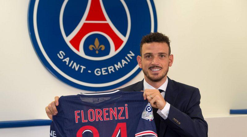 PSG anuncia a contratação por empréstimo do lateral direito Florenzi, da Roma
