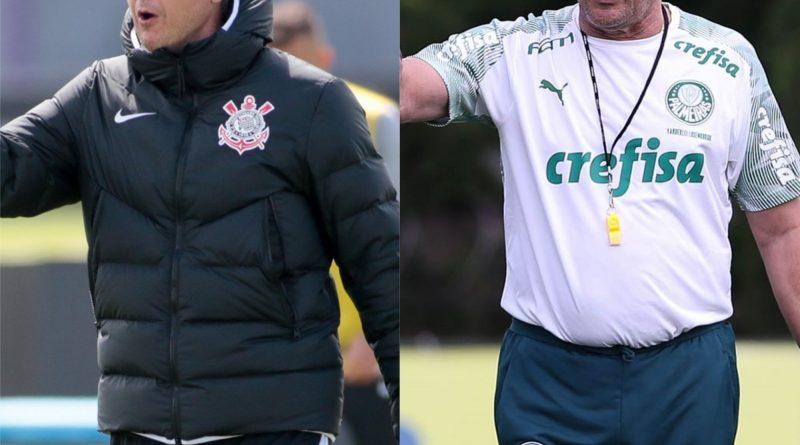 Tiago Nunes e Luxemburgo se enfrentam pressionados por melhor futebol