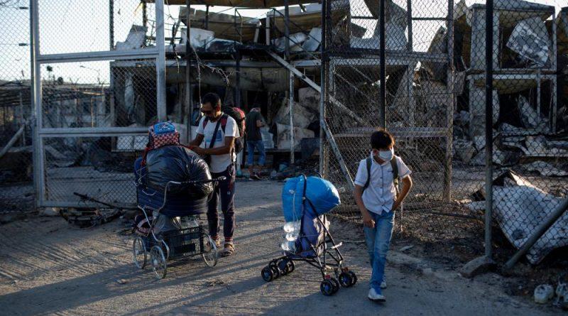 União Europeia ajuda crianças vítimas da tragédia de Moria