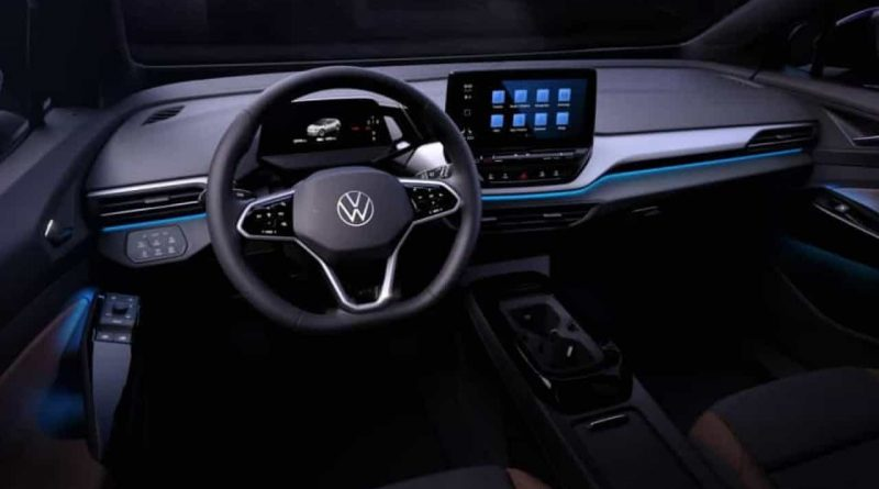 Volkswagen revelou interior do elétrico ID.4